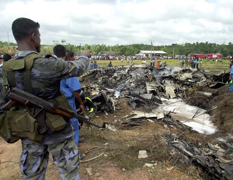 Four Killed In Sri Lanka Air Force Plane Crash Enca