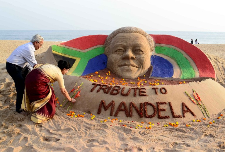 gallery the world pays tribute to nelson mandela enca