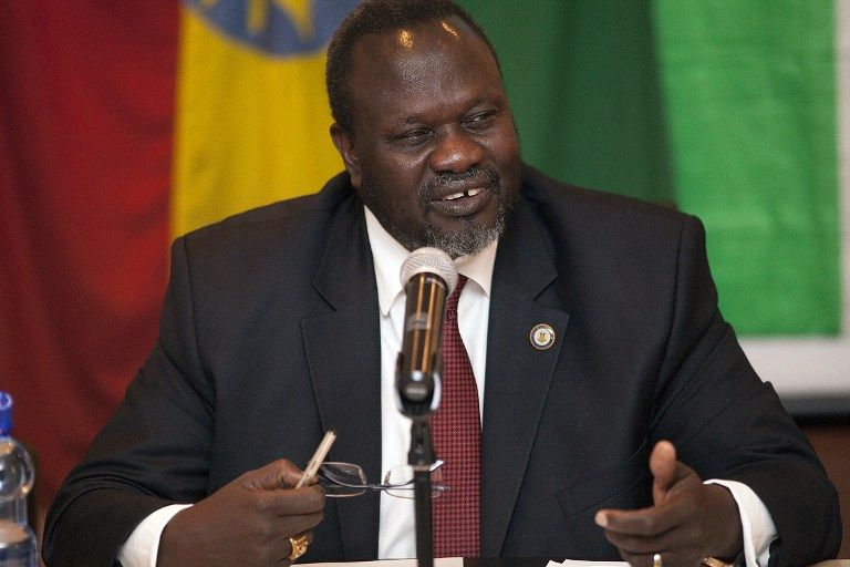 "File: South Sudan's rebel leader Riek Machar is planning to return to Juba in May under a power-sharing deal that a UN envoy said on Tuesday offered the ""best chance"" of ending the war."