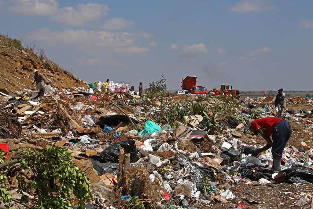 recycling the only solution to south africa s landfill shortage enca