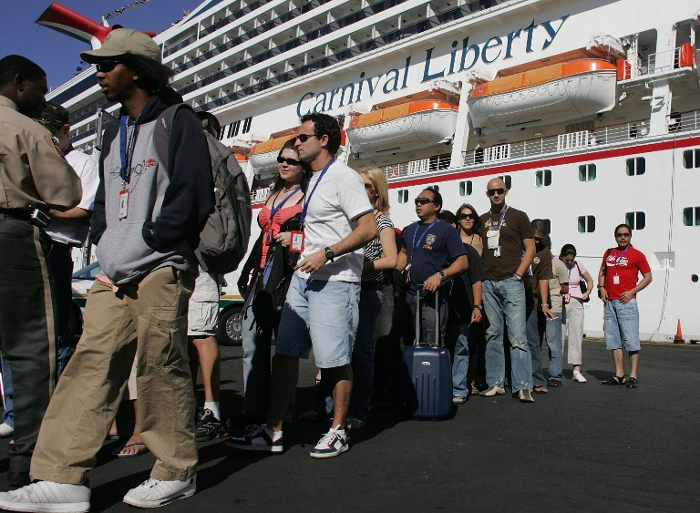 Cruise ship fire leaves guests stranded on Caribbean island
