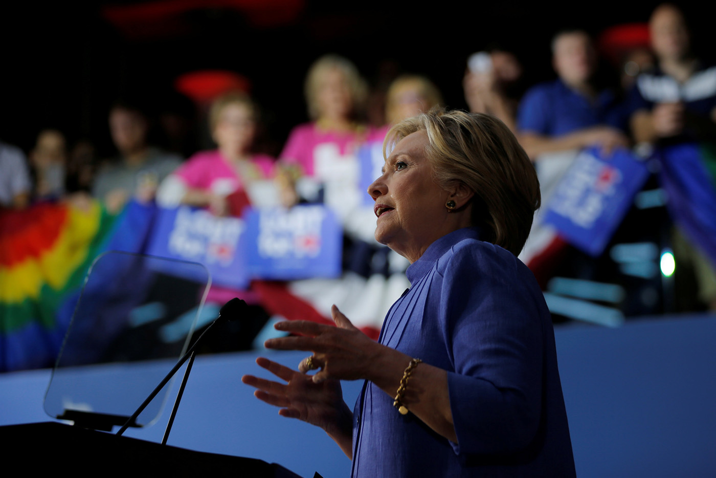 Clinton in Coral Gables for Shalala fundraising event amid