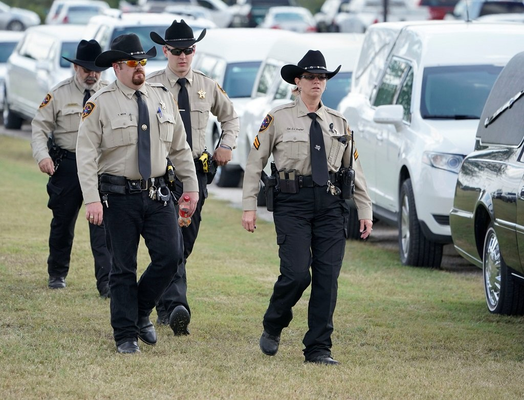 Texas state trooper shot dead, suspect arrested after