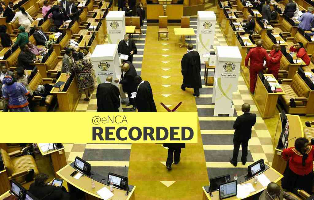 Parliament recorded.
