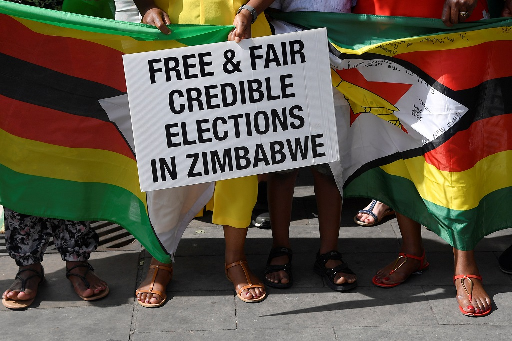 Zimbabwe opposition on deadline to appeal election result