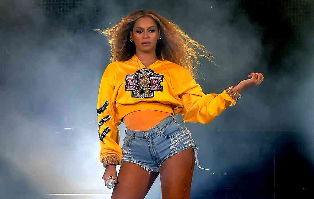 File: Beyonce has called for a greater acceptance of naturally curvy figures.