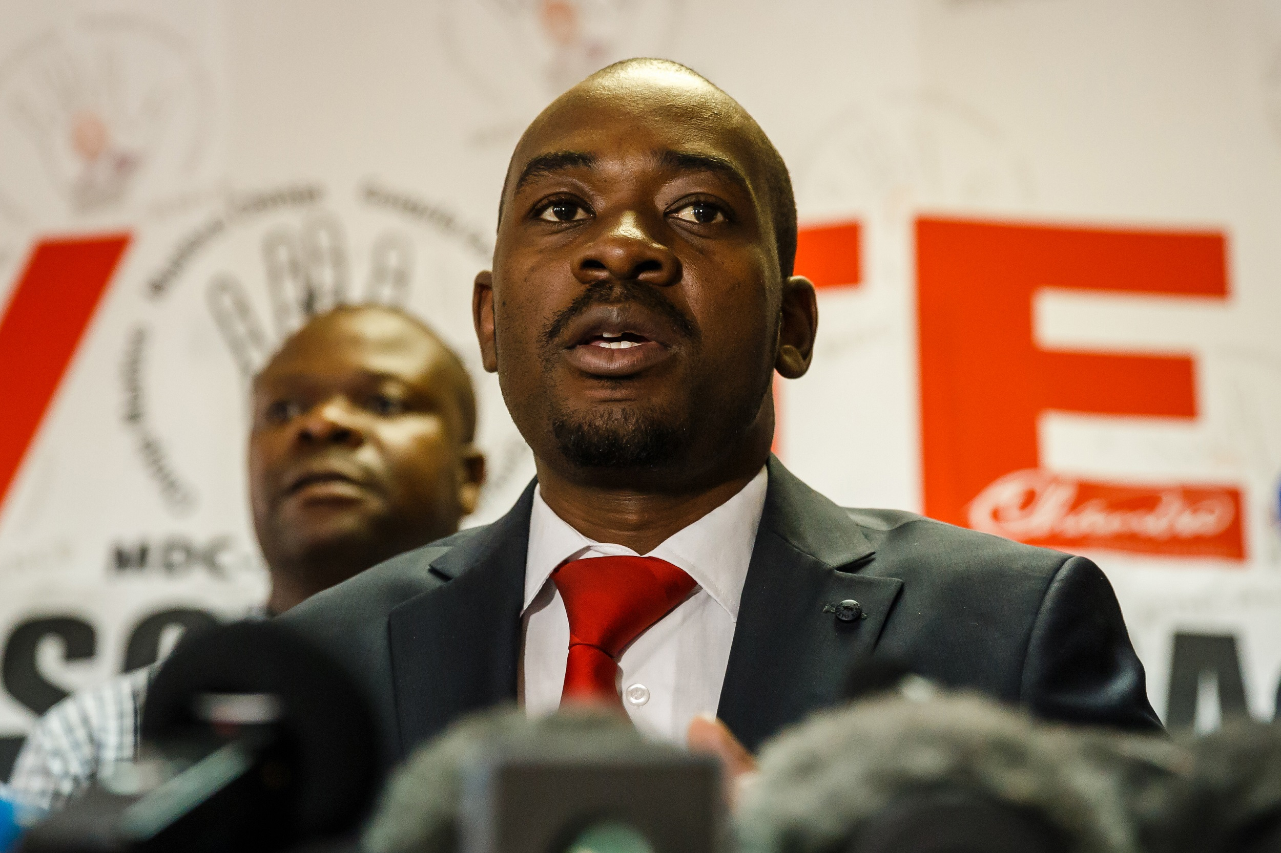 Enca Chamisa Mnangagwa's Out Government At Lashes XXfqAY