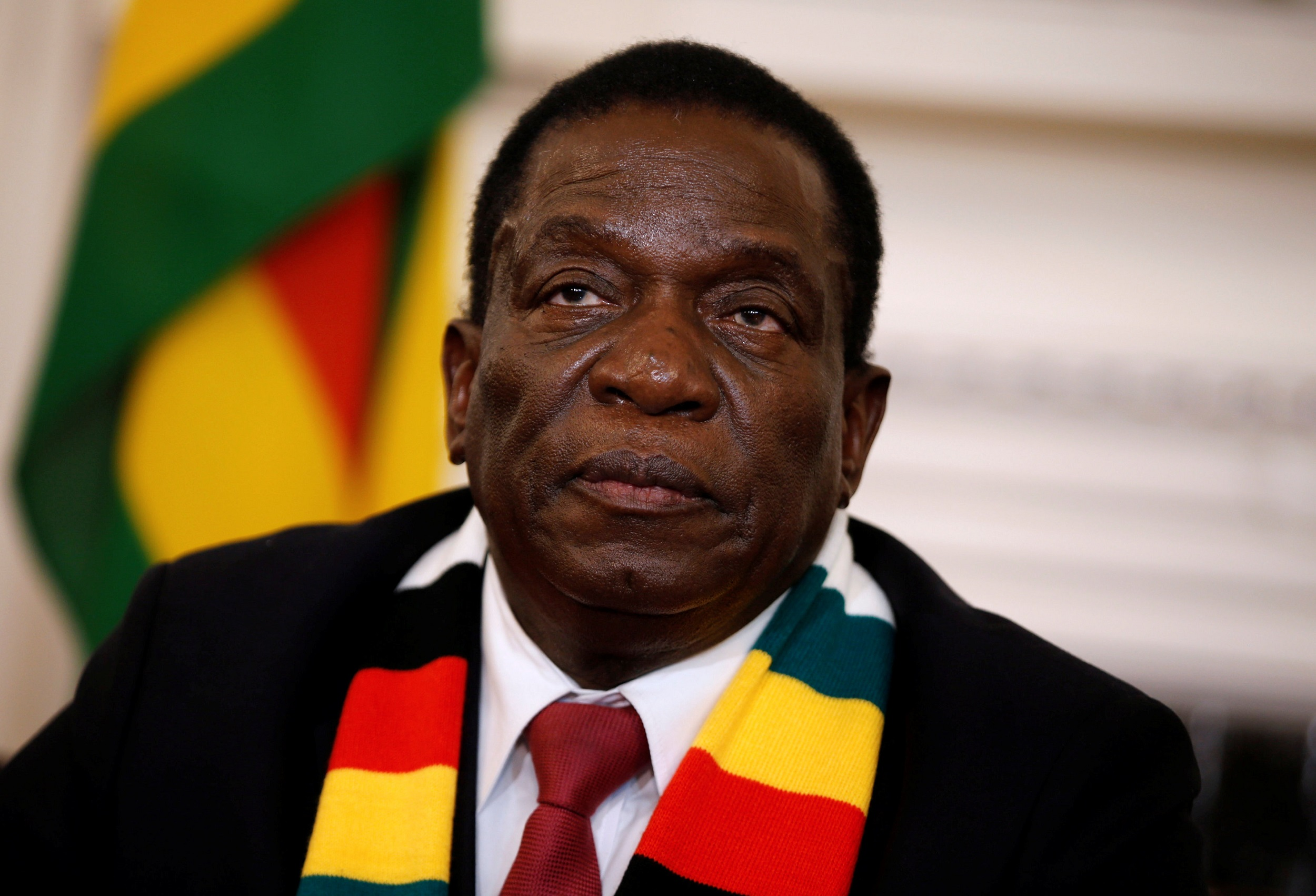 File: Zimbabwe President Emmerson Mnangagwa said the price hikes were unjustified.