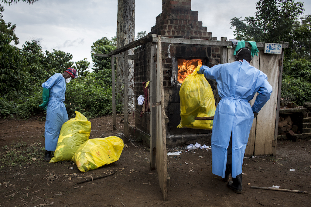 World Health Organization suspends work on Ebola in Congo amid militant attacks