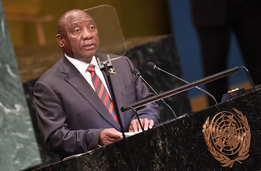 Image result for ramaphosa united nations photo