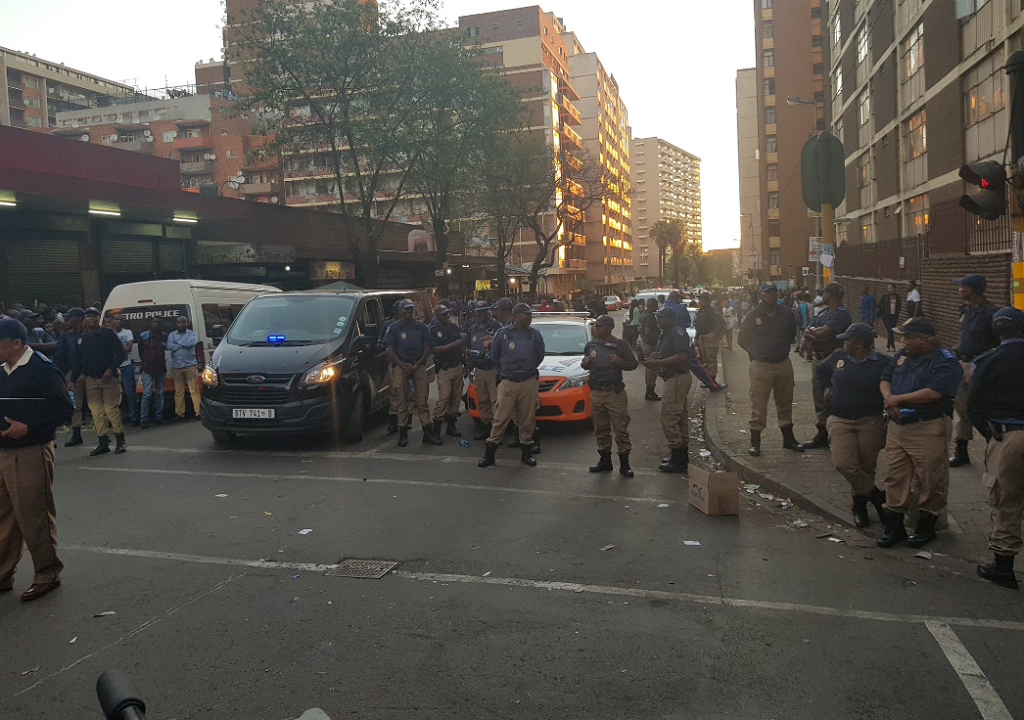 The City of Johannesburg says the apprehended suspect claims to be from Mpumalanga and states that he was assisted by a Zimbabwean national in perpetrating the crime.