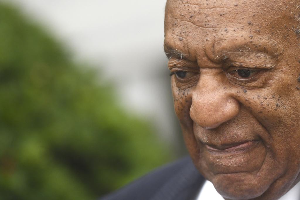 Bill Cosby departs the Montgomery County Courthouse on the first day of sentencing in his sexual assault trial.
