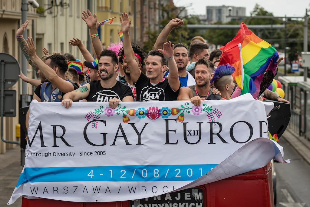 Gay pride stock photo