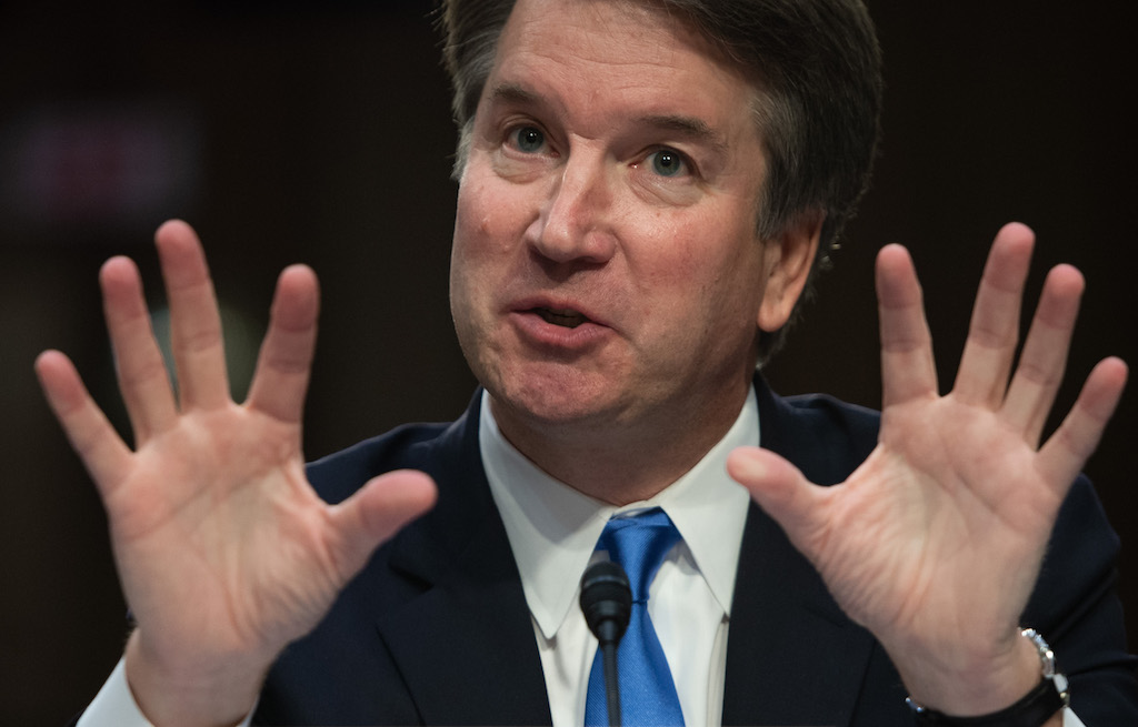 File: Supreme Court nominee Brett Kavanaugh said he wishes to testify as soon as possible to clear his name.