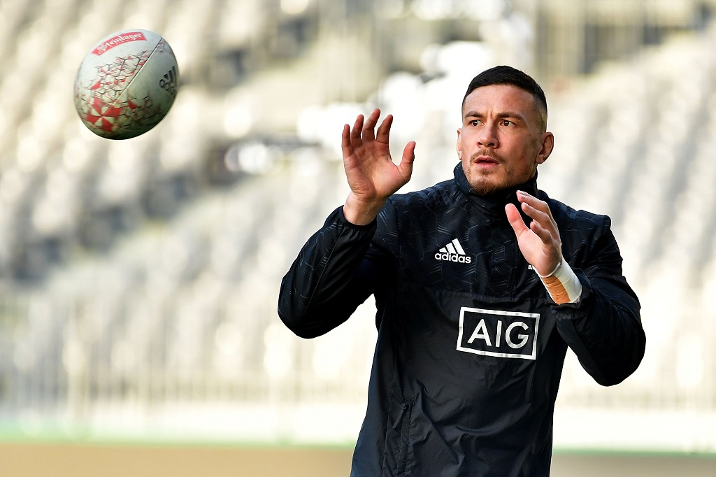 File: New Zealand rugby player Sonny Bill Williams tweeted his support for the Muslim minority group, echoing beliefs of Arsenal soccer star Mesut Ozil.