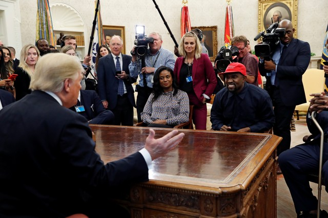 Kanye wants Apple to build an iPlane for Trump