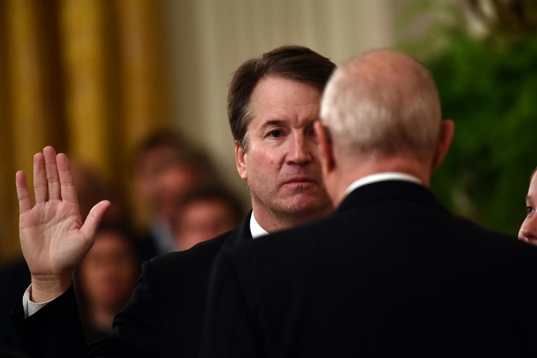 Trump declares Kavanaugh 'proven innocent', internet calls him out