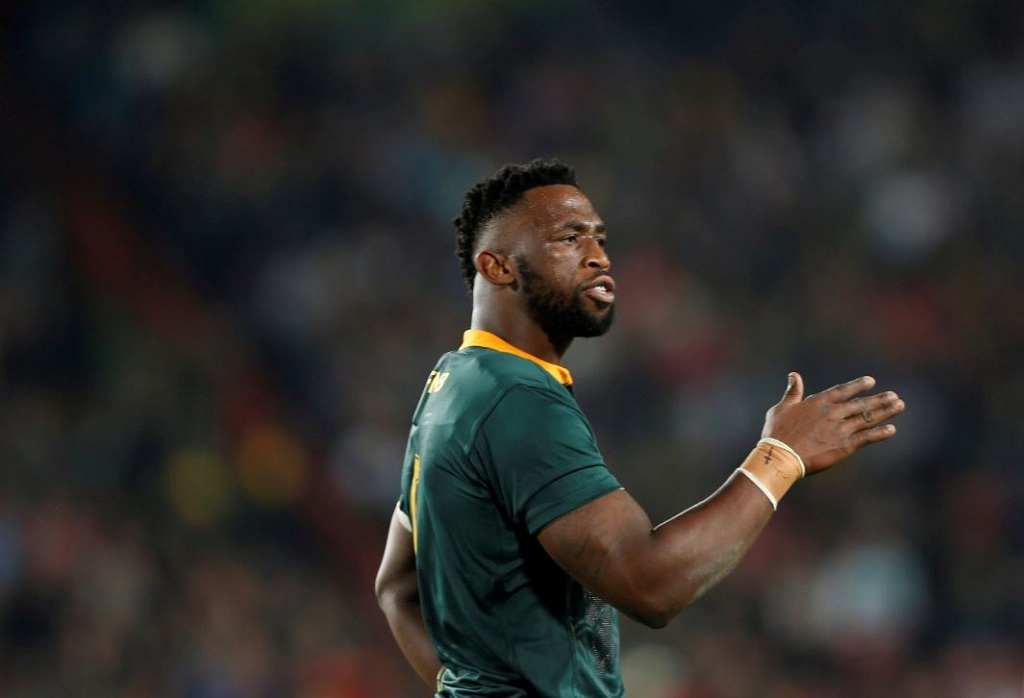 South Africa's captain Siya Kolisi.