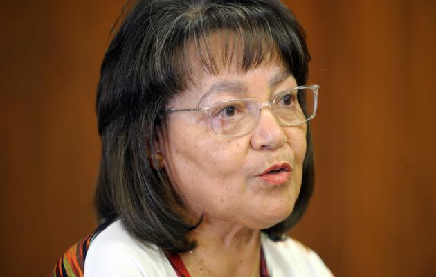 File: GOOD party leader and minister of Public Works and Infrastructure Patricia de Lille.