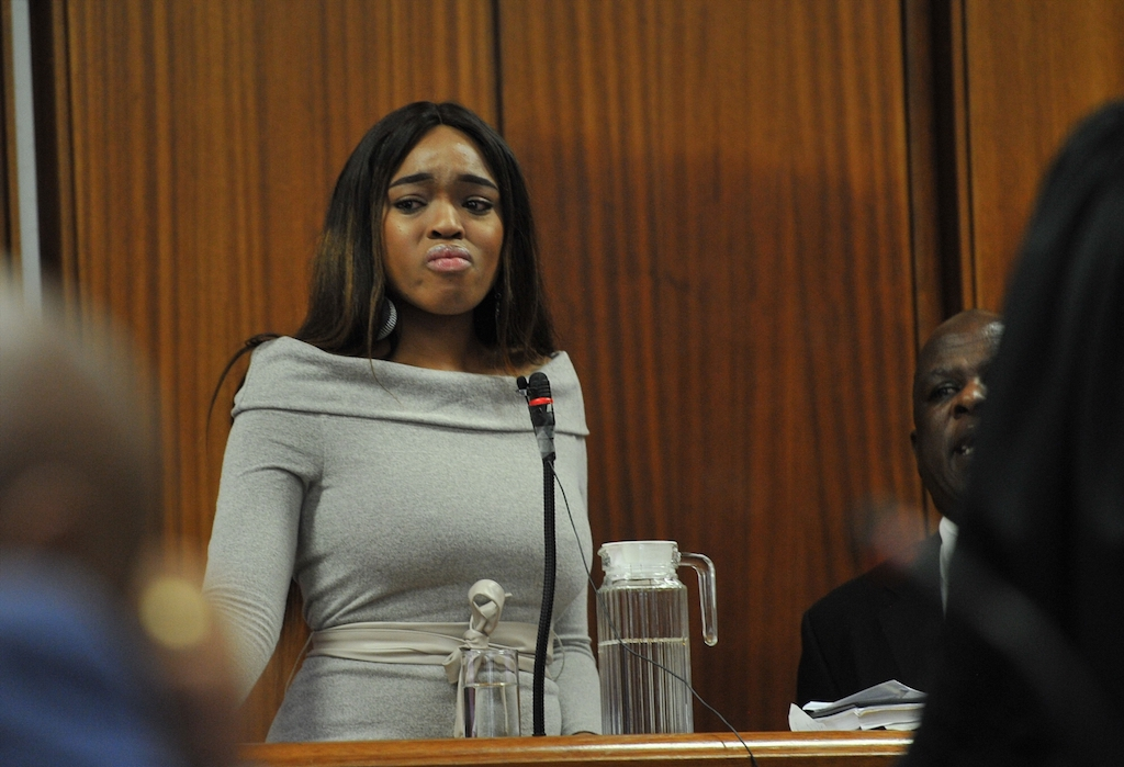 File: Cheryl Zondi is under 24-hour protection following a reported hit on her life to the value of R500,000.