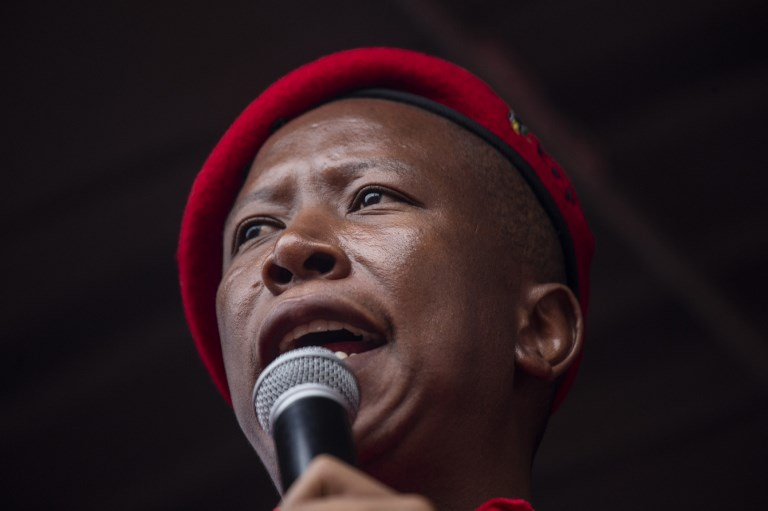 File: EFF leader Julius Malema