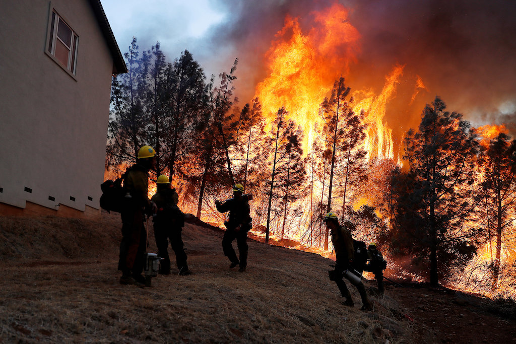 Homeowners - famous and not - await word of wildfire's toll