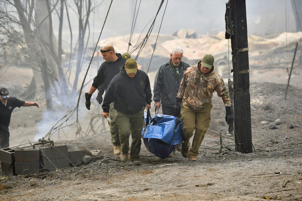 Image result for Raging California Fire - Death toll rises to 25