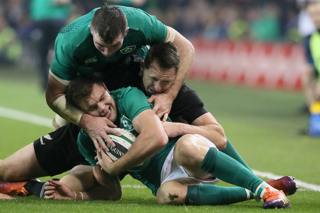 All Blacks captain Read praises Ireland