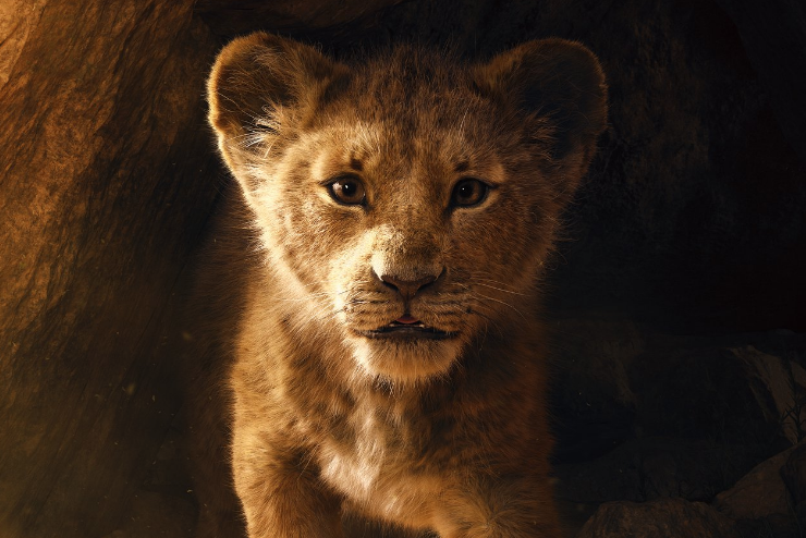 "Disney's ""The Lion King"" held on to its reign in North American theaters."