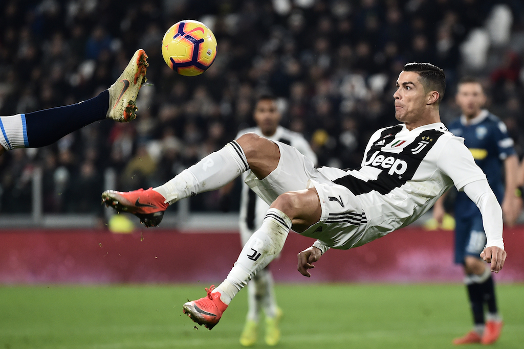 Ronaldo, Mandzukic On Target As Juventus Ease Past SPAL