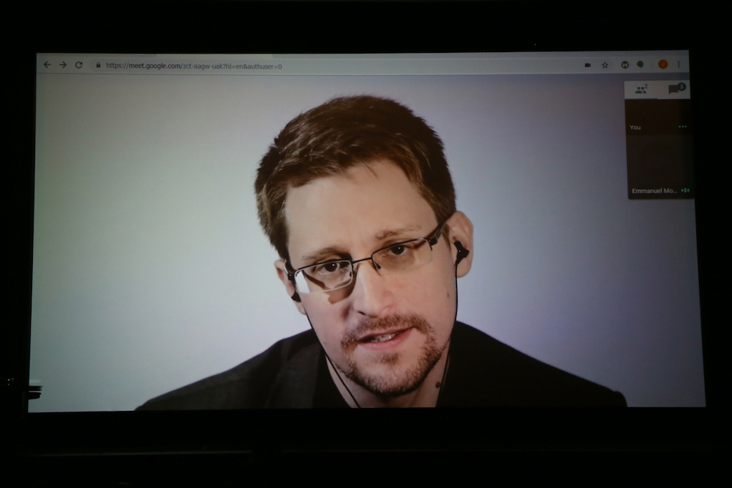 "File: Edward Snowden's book, ""Permanent Record,"" will go on sale on 17 September."