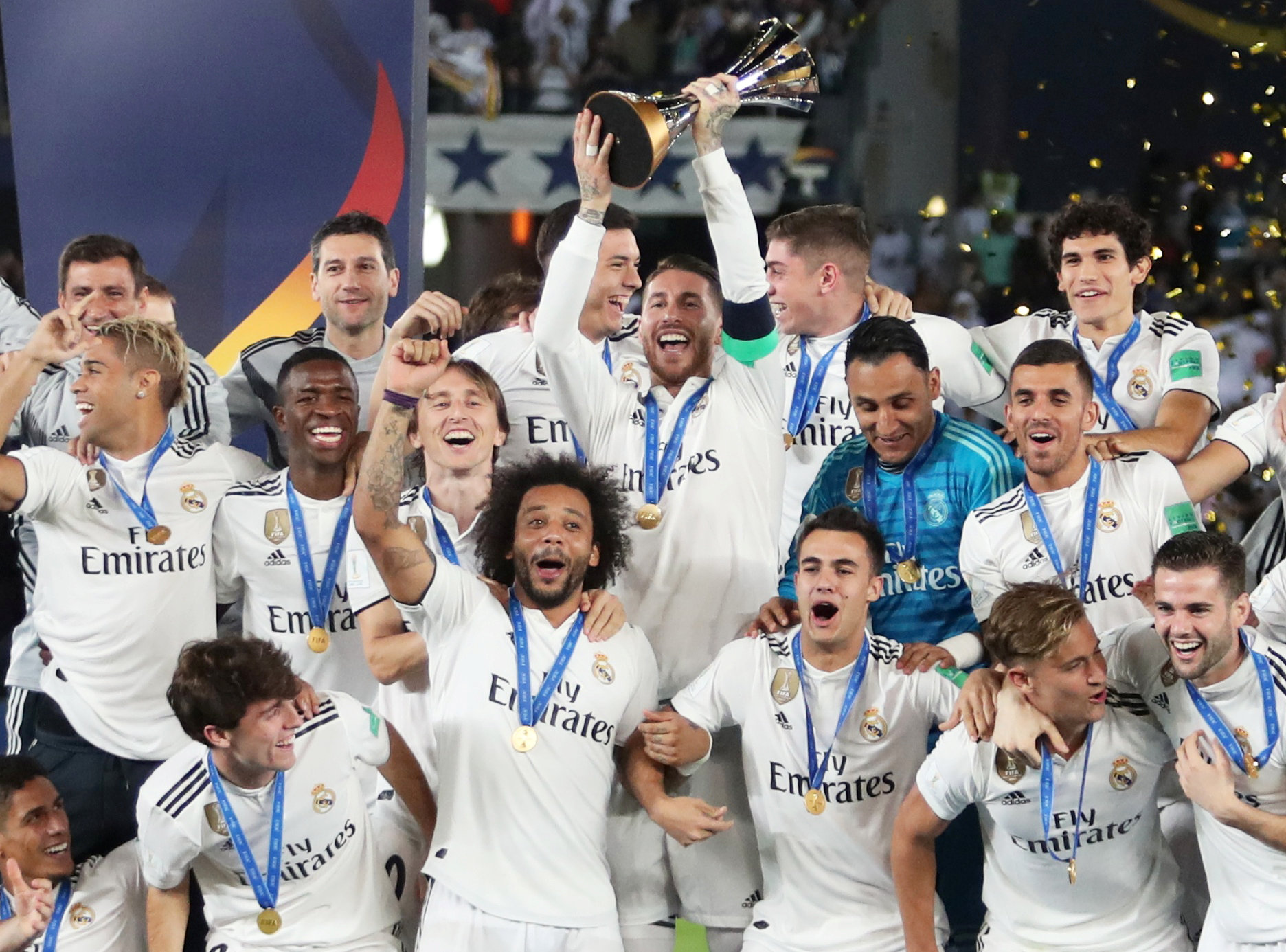 Solari Hails Zidane Factor In Real Madrid Club World Cup Win