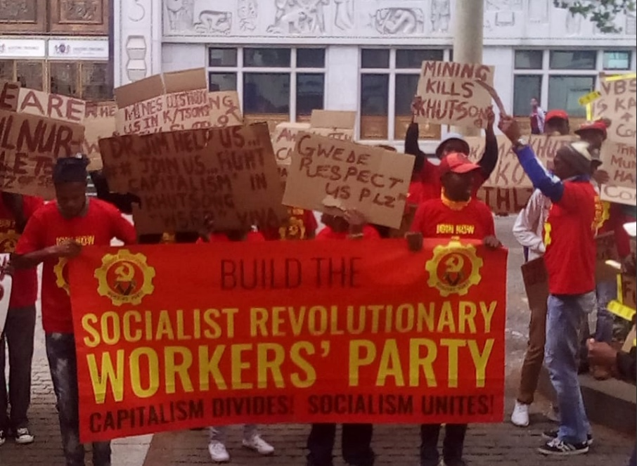 The Socialist Revolutionary Workers Party (SRWP).