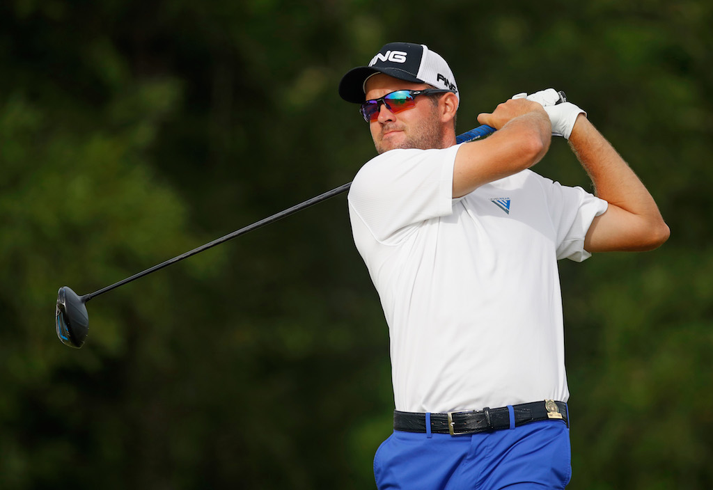 File: Oliver Bekker hit four successive birdies on the newly-refurbished course.