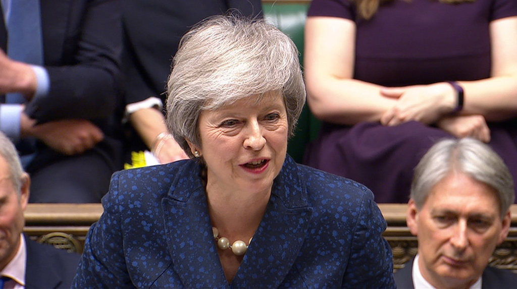 Newspaper: May, Blair trade Brexit snipes
