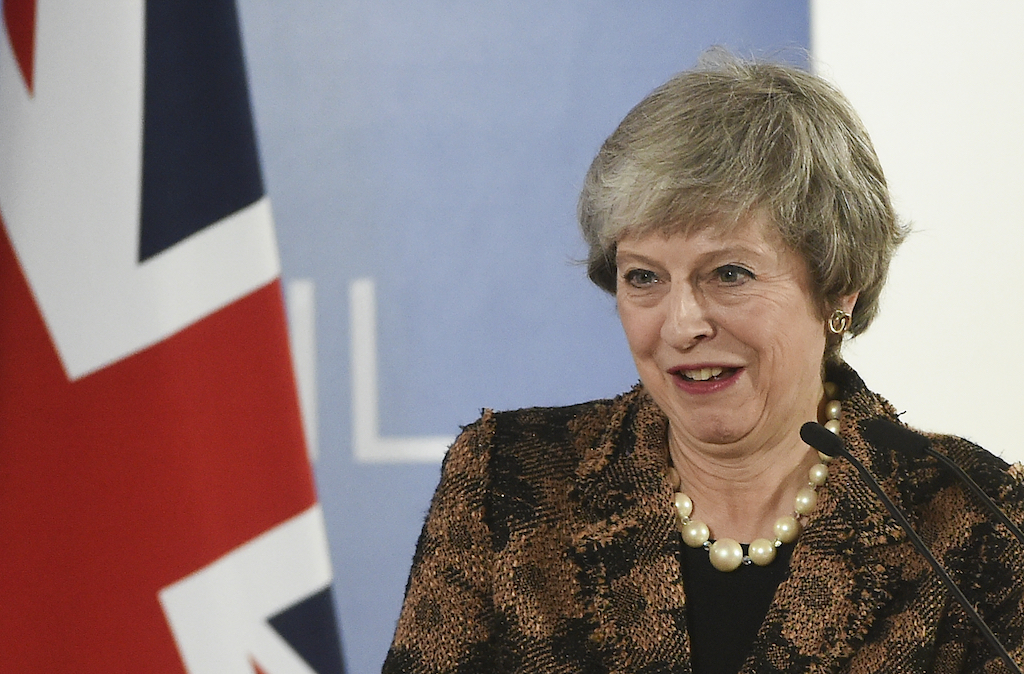 File: British Prime Minister Therese May has faced calls for a second referendum to resolve the impasse.