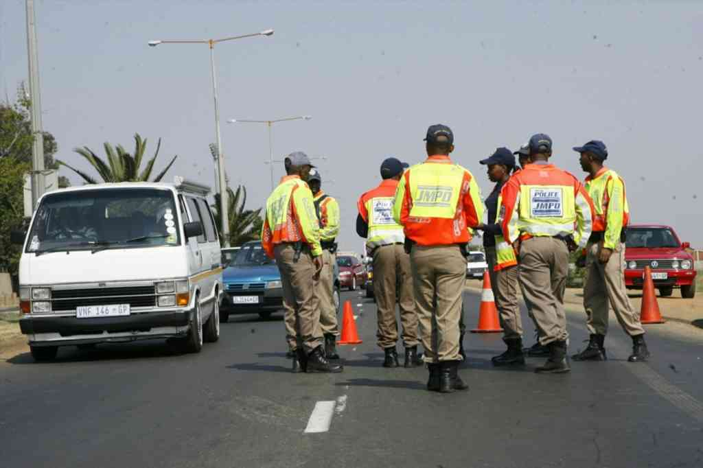 File: Close to 1,000 people arrested at roadblocks around Gauteng over the long weekend.