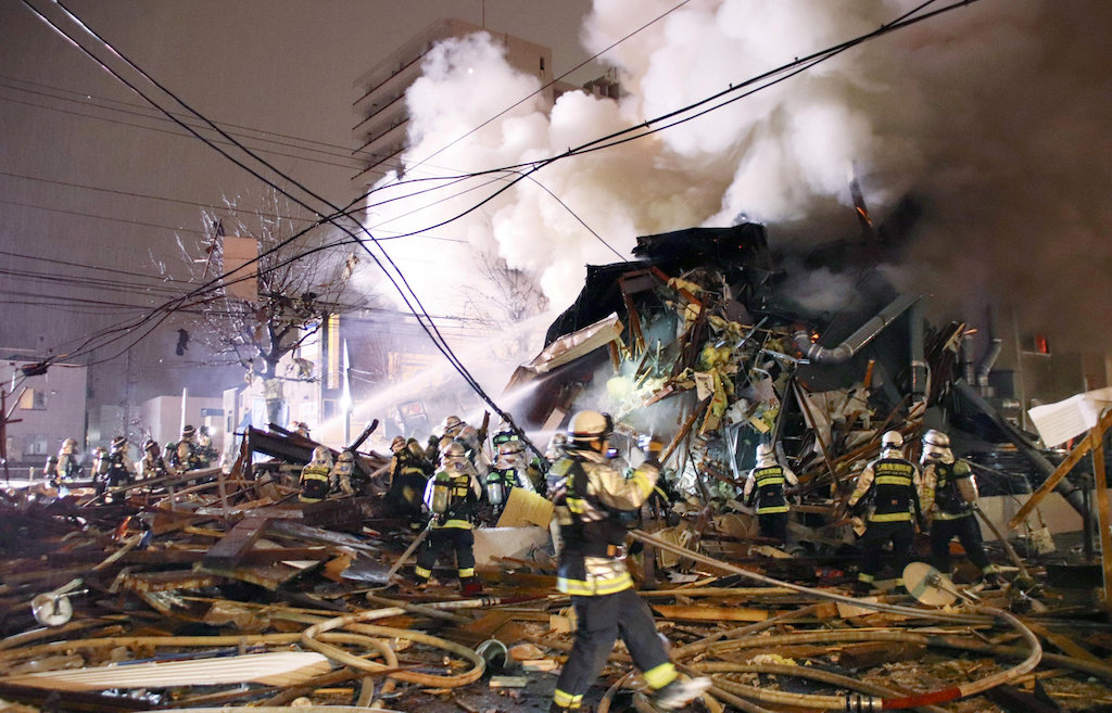 Explosion at Japan restaurant injures 42