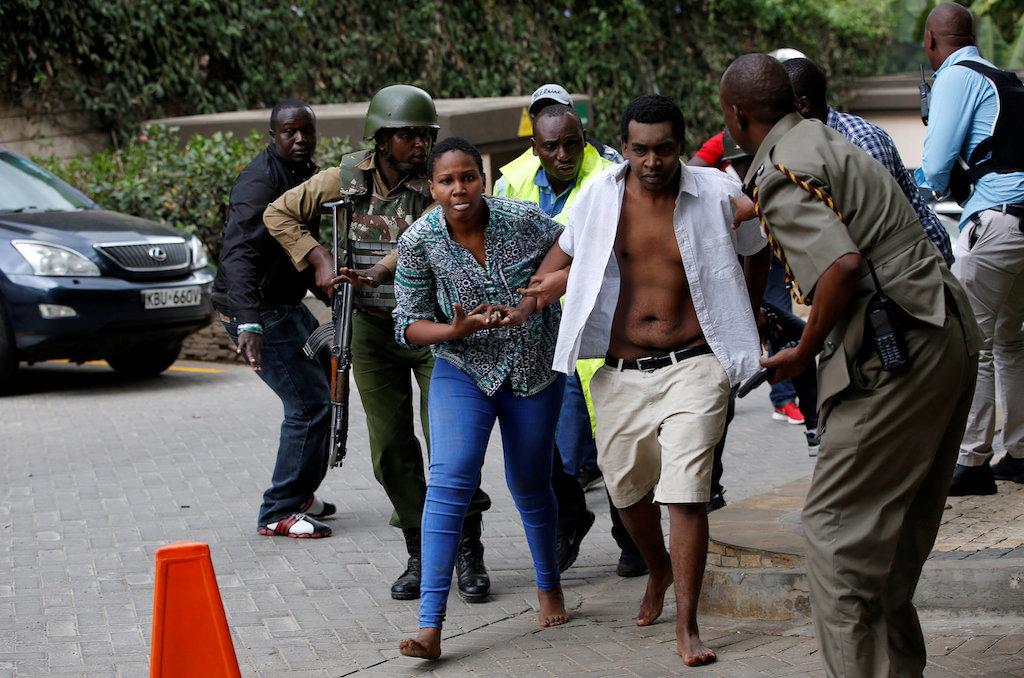UPDATE: Explosion and gunfire at Nairobi hotel | eNCA