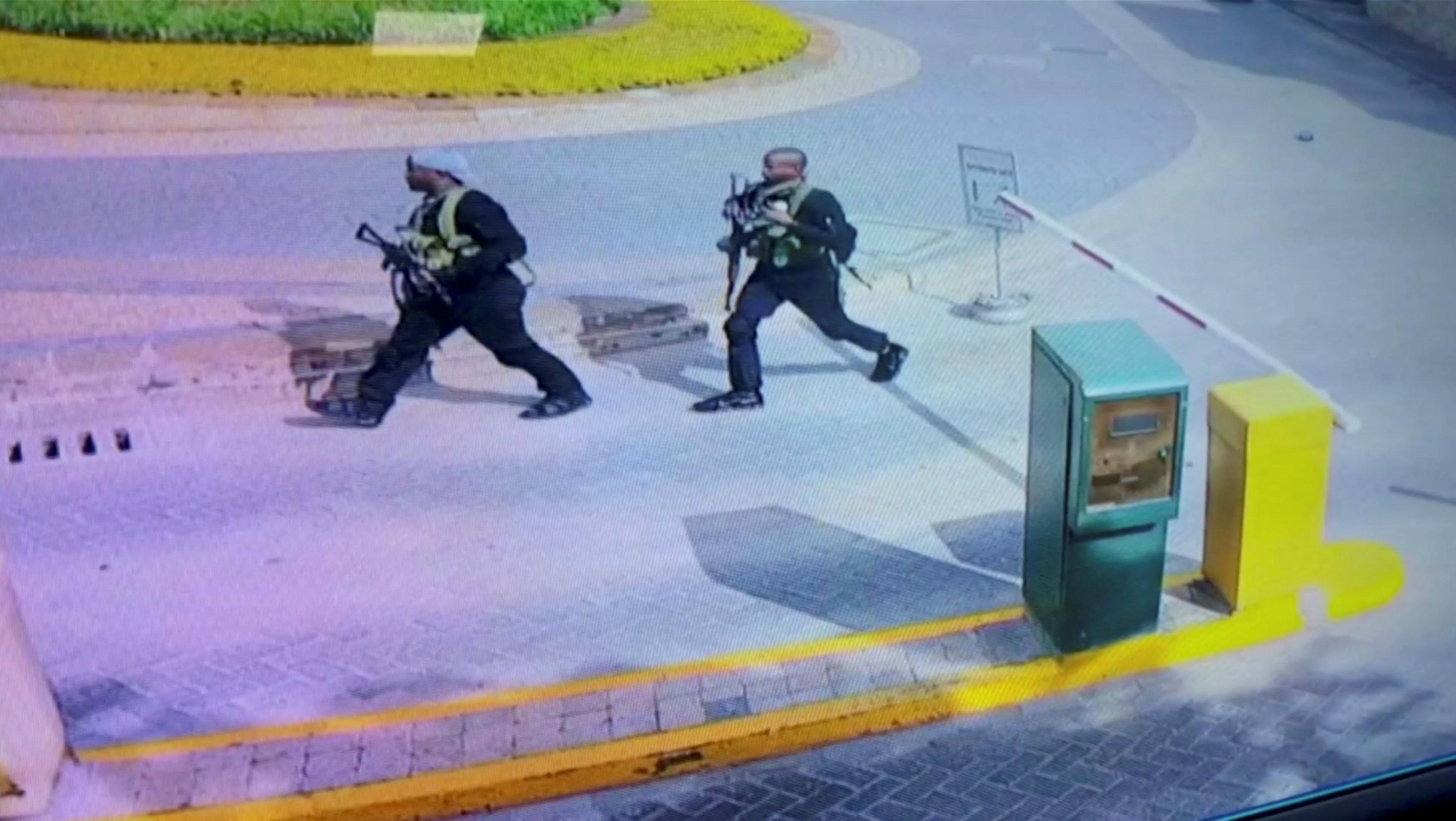 Nairobi gunmen caught on camera | eNCA