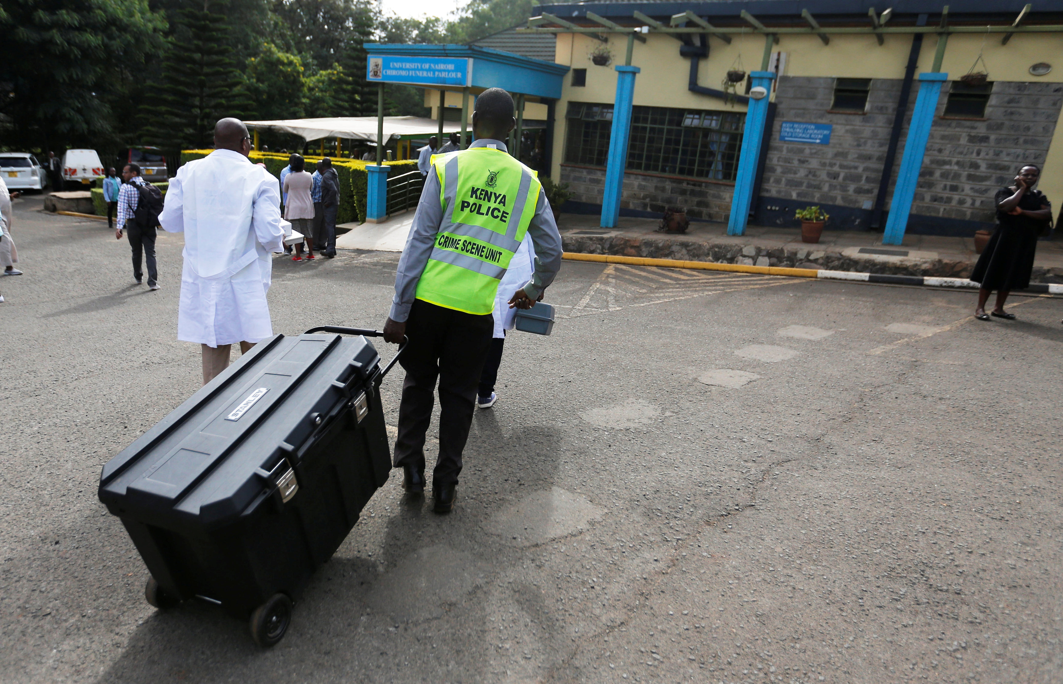 Explosion, gunfire at Nairobi hotel, office complex