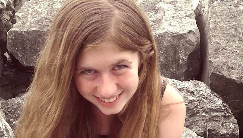 "The FBI had been searching nationwide for Jayme Closs and described her as ""endangered."""