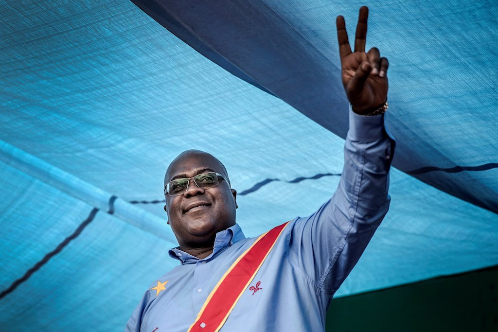 Felix Tshisekedi was named by election officials as the provisional winner of the historic presidential poll.