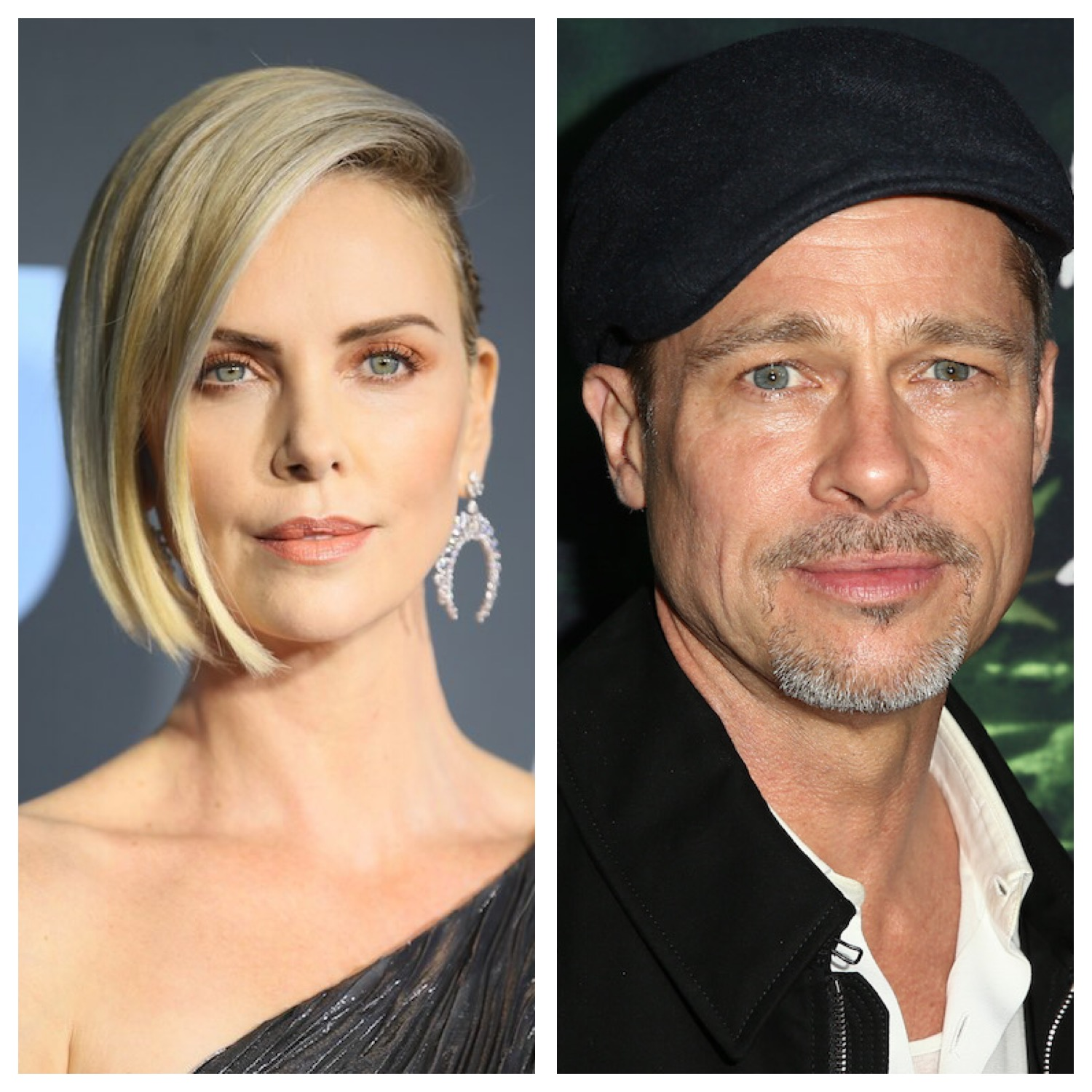 Brad Pitt 'dating' Charlize Theron - after being introduced by her ex fiancé