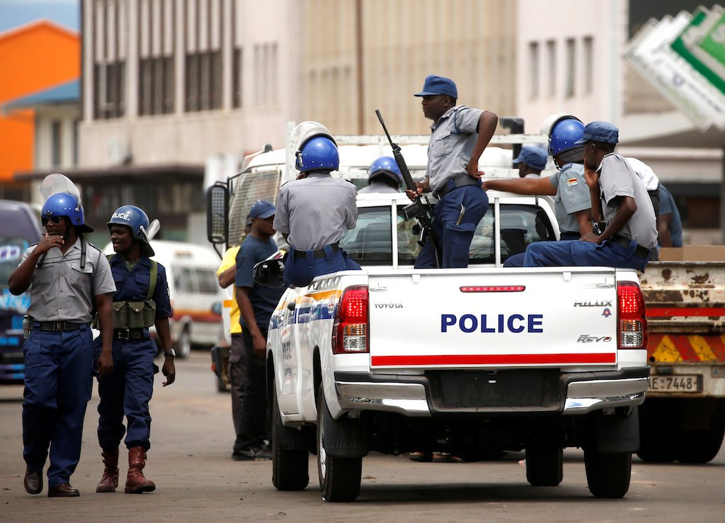 File: Police in Zimbabwe have cracked down on opposition Movement for Democratic Change supporters.