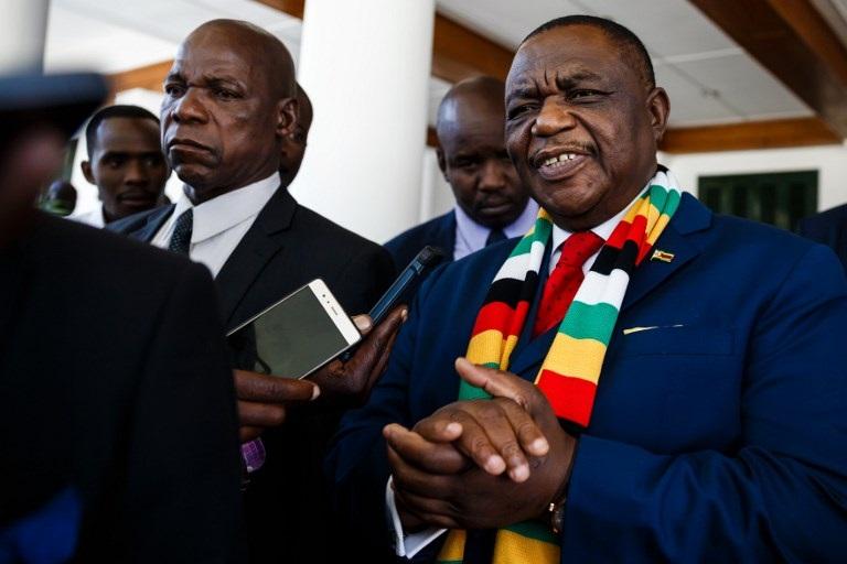 Zimbabwe vice president receiving treatment in India | eNCA