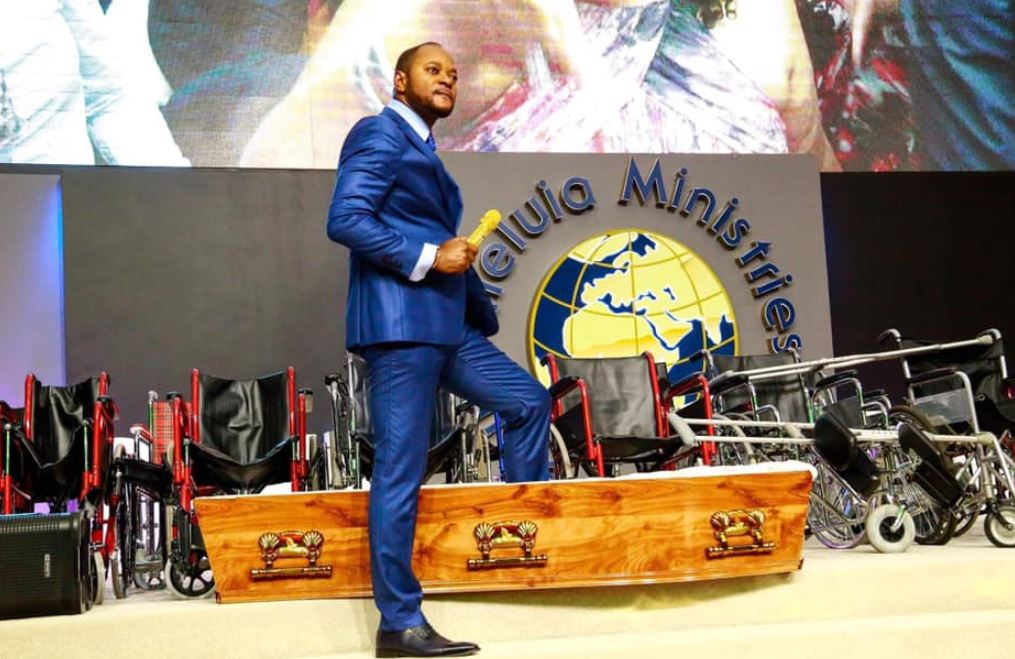 File: Pastor Alph Lukau is no stranger to controversy.