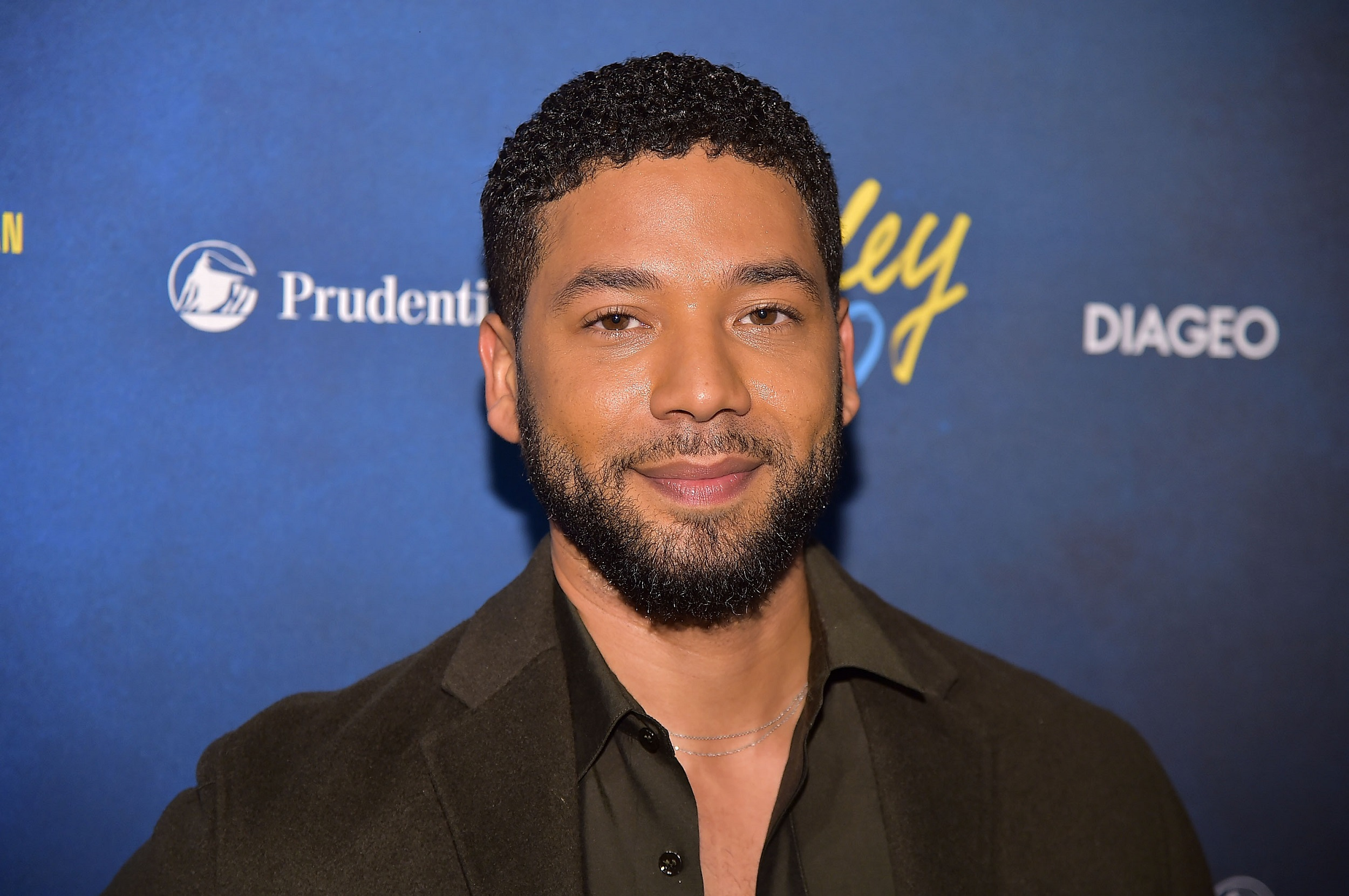 "File: Actor Jussie Smollett, an openly gay African-American who plays a gay character on ""Empire,"" was accosted on a street by two men shouting racial and homophobic slurs."