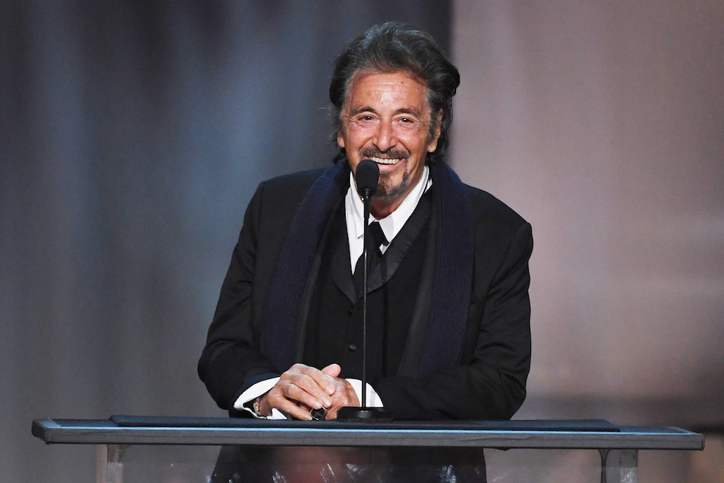 It is only the second time Al Pacino has signed up for the small screen.