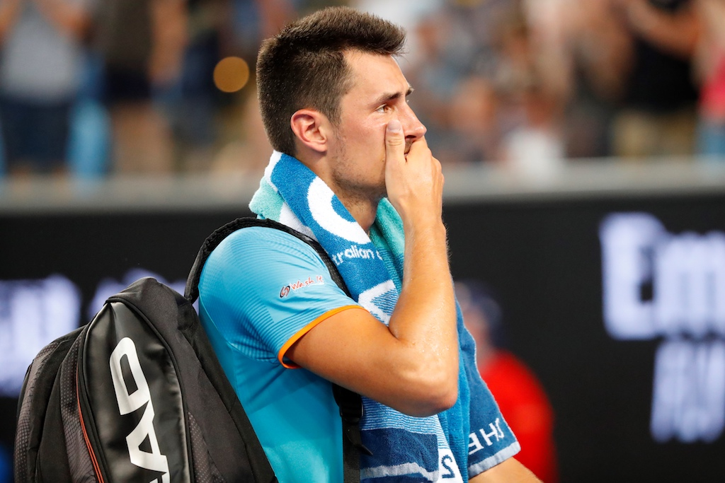 Bernard Tomic Opens up on Feud with Lleyton Hewitt